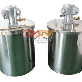 150L不锈钢304桶配搅拌机/不锈钢桶配气动搅拌机