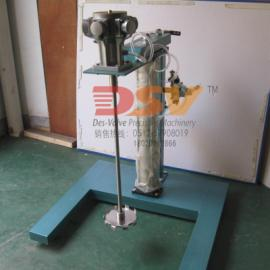 胶水气动搅拌机|不锈钢气动防爆升降分散机