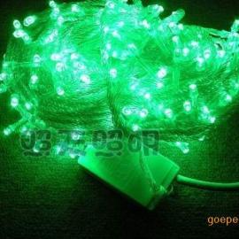 厂家批发户外防水LED灯串,节日装饰彩灯