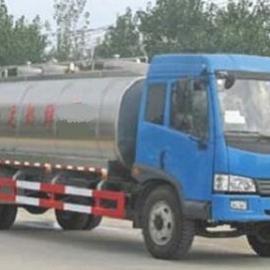 解放鲜奶运输车_10方奶罐车