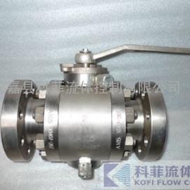RQ47F三片式锻钢缩径球阀