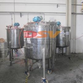 气动搅拌机大功率马达配不锈钢桶搅拌机/活塞式马达搅拌机