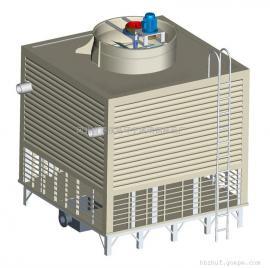 方形横流式玻璃钢冷却塔/方形横流式冷却塔