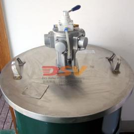 立式双桨配不锈钢桶盖搅拌机-配正反搅拌控制器