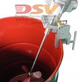 气动搅拌机200L油桶夹桶式液体搅拌机/直销夹式气动搅拌机