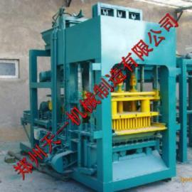 供应QTJ4-26汽动型免烧砖机―液压型马路花砖机―天一