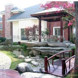 郑州私家花园设计,郑州私人别墅景观设计施工