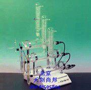 生产自动纯水蒸馏器SZ-97A型,三重蒸馏