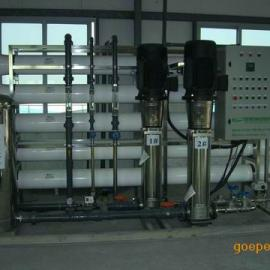RO反渗透+离子交换混合床设备,制取超纯水设备的工艺流程