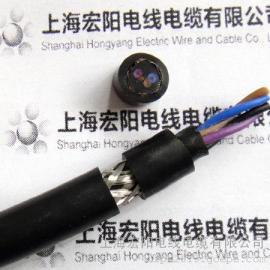 带屏蔽拖链电缆,现货多厂家:上海宏阳电线电缆