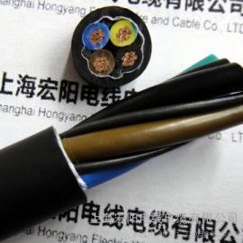 高柔性电缆,上海TRVVP拖链电缆・TRVV-坦克链电缆