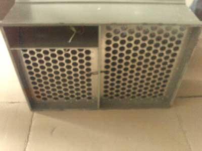 新风入口式电子除尘净化杀菌器