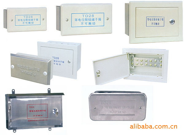泉龙批量生产铁排中型等电位箱