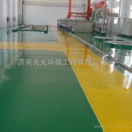 淄川工业地坪, 机械厂地坪,加工企业地坪漆