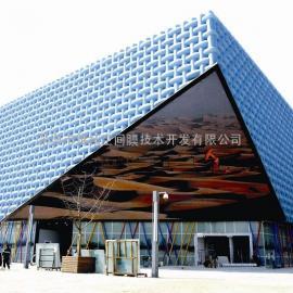 半岛酒店膜结构/建筑立面节能索膜结构