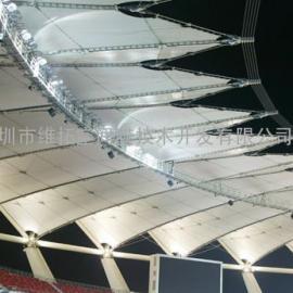 威海体育场膜结构工程/看台张拉膜结构工程