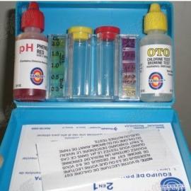 泳池水质测试盒,验水盒(检测PH和OTO余氯值)