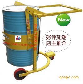 油桶搬运车 手推油桶翻转车 可倾式油桶卸料机