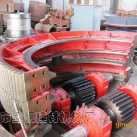 奎钢2.4X3.6米选矿球磨机大齿轮