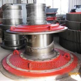 奎钢建材机械厂2.1X3.6米选矿球磨机端盖