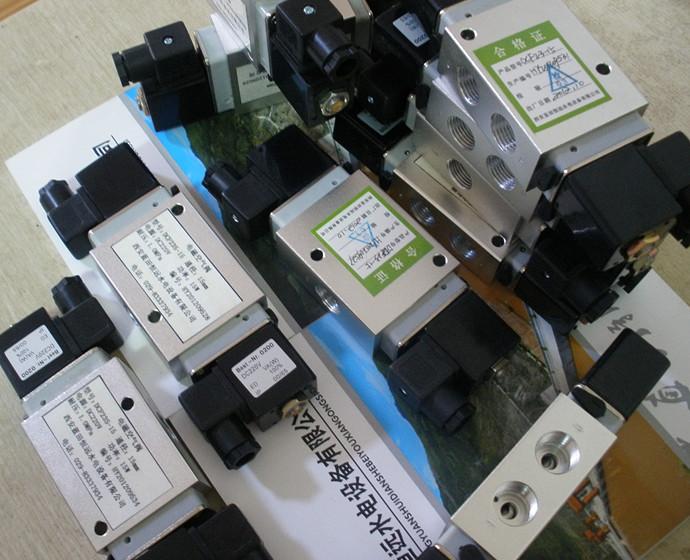 二位三通电磁空气阀DCF23单电控/双电控电磁阀