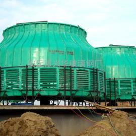 圆形玻璃钢冷却塔|逆流式冷却塔