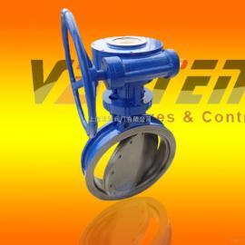 涡轮对夹蝶阀,DN450涡轮对夹蝶阀生产厂家