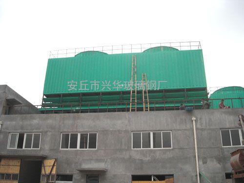 低噪音方形逆流式冷却塔