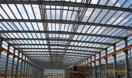 钢_北海钢构雨棚钢架铁棚安装
