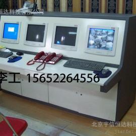 121北京监控杆,机房电脑操作台