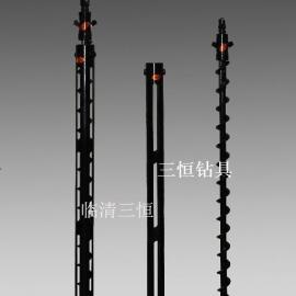 螺旋钻杆,地质钻杆,封孔器,高效螺旋钻杆