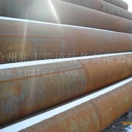 河北560厚壁卷管、600焊管、610直缝焊钢管加工厂