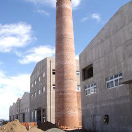 砌砖烟囱-砖烟筒公司