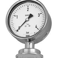 德国wika隔膜压力表 德国威卡压力表隔膜式