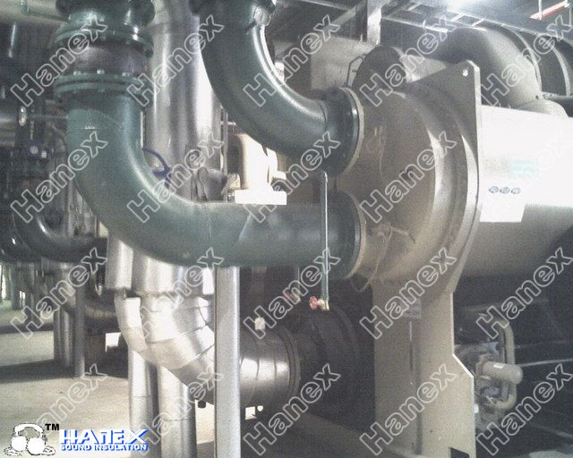 冷水机组减振降噪工程