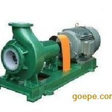 IHF氟塑料合金化工�x心泵 化工流程泵 耐腐�g