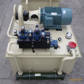 制砖机液压控制站