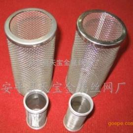 进水过滤网过滤筒-不锈钢过滤网筒-安平县天宝金属丝网厂
