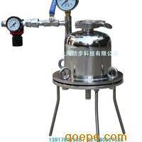 实验室正压过滤机,实验室正压过滤器,不锈钢保温过滤器
