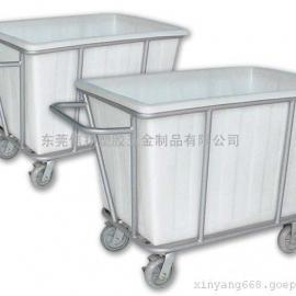 洗衣房布草车,塑胶布草车,洗衣房车