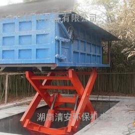 长沙环保型地埋式水平压缩垃圾中转站设备