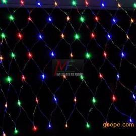 厂家批发节日装饰LED灯串 LED网灯 彩色LED网灯