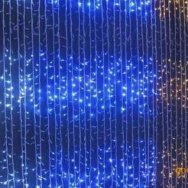 批发LED灯串 LED瀑布灯 节日装饰LED瀑布灯