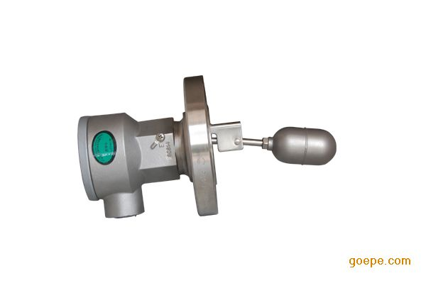 产品编号: TGL05-V1106 产品名称: FB-5000系列浮球式液位开关 规  格: 产品备注: 产品类别: 液位仪表 概述 FB-5000系列浮球式液位开关结构合理,可靠性高,适用于工业生产过程敞开或承压容器内的液位控制、报警、故障连锁等。液位开关安装于容器罐壁,浮球跟踪液位,在液位到达设定点时,通过磁耦合使干簧开关动作,实现液位高限或低限时的报警与控制。可广泛应用于石油、化工、电力、环保、冶金等工业领域。