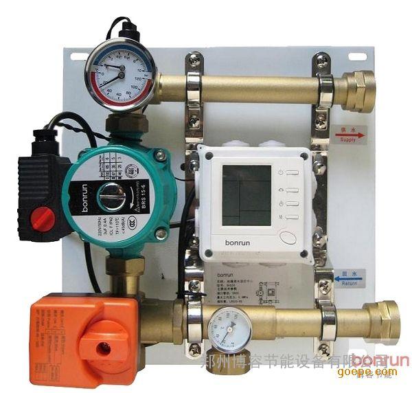 管件黄铜锻造,安全可靠不漏水;电动,手动三通阀调节,阻力小不堵塞图片