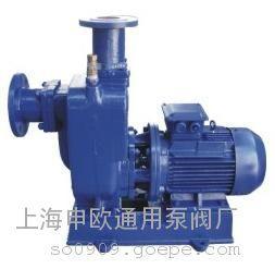 100ZWL100-20直连式自吸无堵塞排污泵