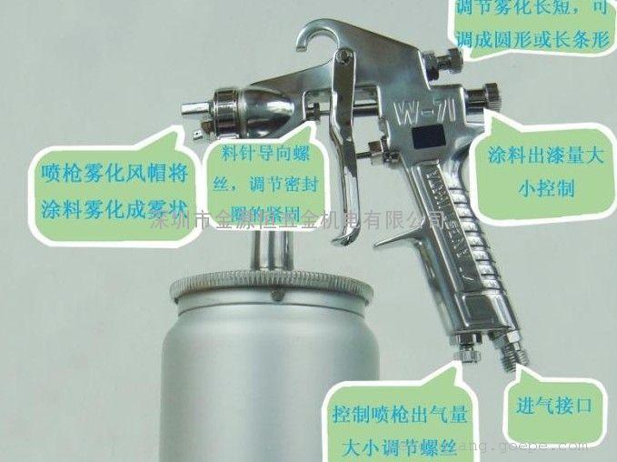 喷枪w200(日本岩田w-200喷枪)岩田手动油漆喷漆枪