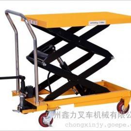 物流油压手推平台车 江门滚筒式模具搬运车 电动平台车订做