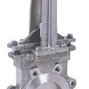 PZ43W-10R-DN100 316不锈钢手动刀型闸阀