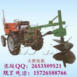 拖拉机挖坑机,硬土质专用植树挖坑机,挖树坑机z2